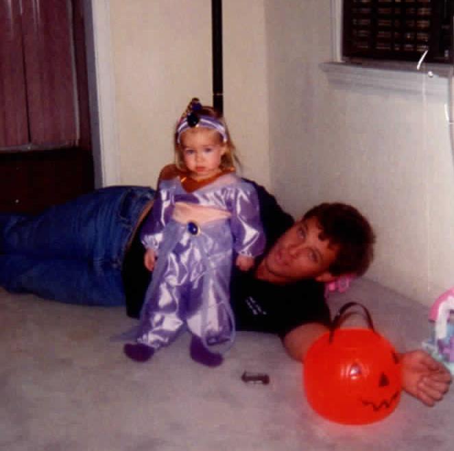 Amanda & Dad