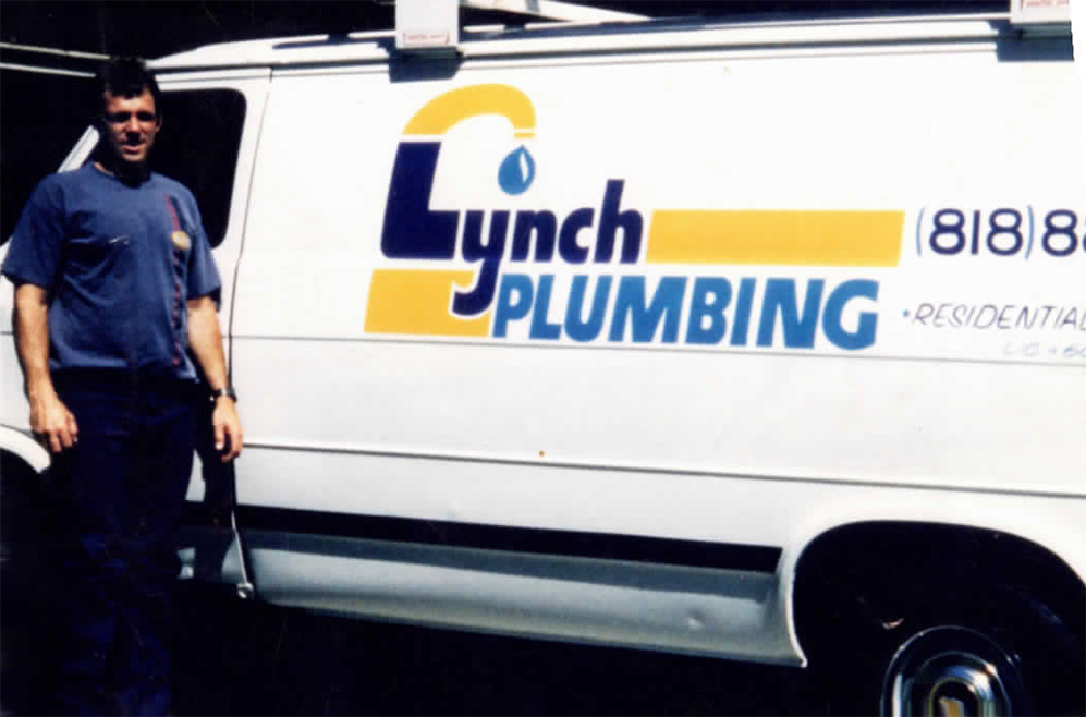 Original Lynch Plumbing Van!